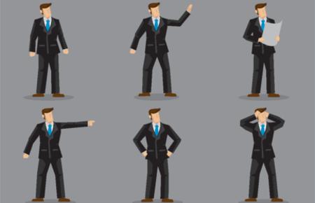 Deuten blicke von männern Körpersprache